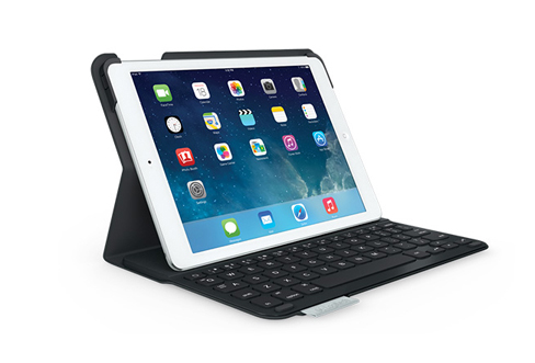 Kết quả hình ảnh cho bàn phím kèm vỏ bảo vệ Logitech cho iPad Air