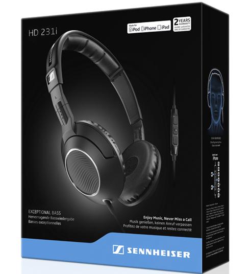 Khuyen mai Tai nghe Sennheiser HD231i